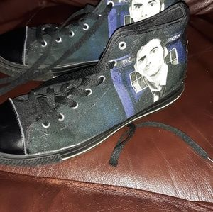 Other - DR WHO Police box unisex sneakers